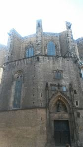 Saint Maria church barcelona