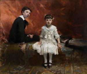 019. Portraits de M.E.P. … et de Mlle L.P. (Portraits of Edouard and Marie-Louise Pailleron)