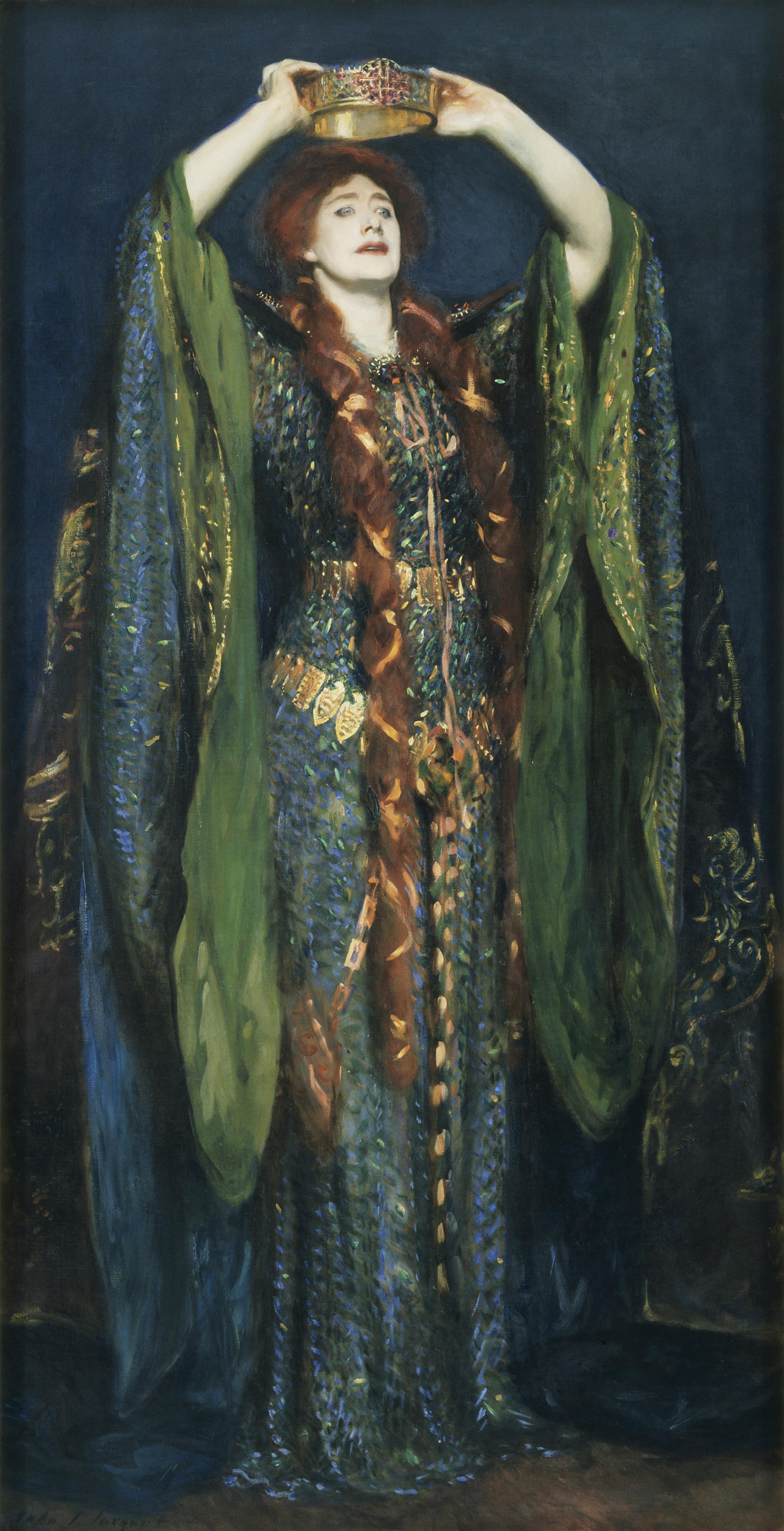 John Faulkner Paintings Ellen Terry As Lady Macbeth