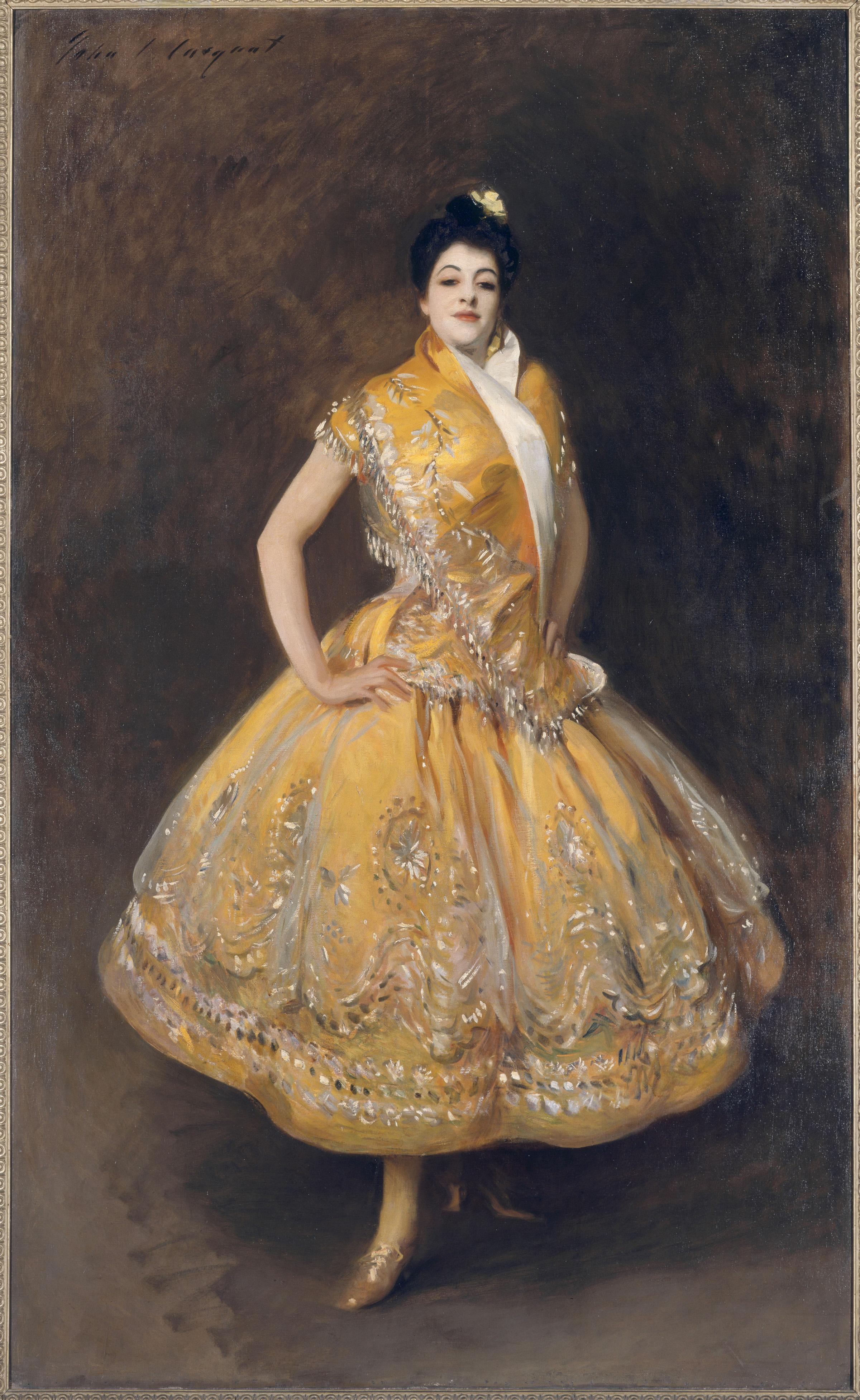 John Faulkner Paintings La Carmencita
