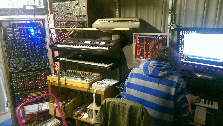 Timmy in his studio